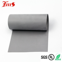 Heat resistant silicone coated glass fiber fabric