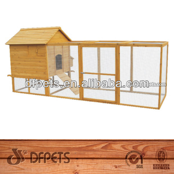 Outdoor Large Wooden Rooster Cage DFC-020