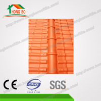 Splendid Water Resistance asa coated spanish synthetic resin roof tile
