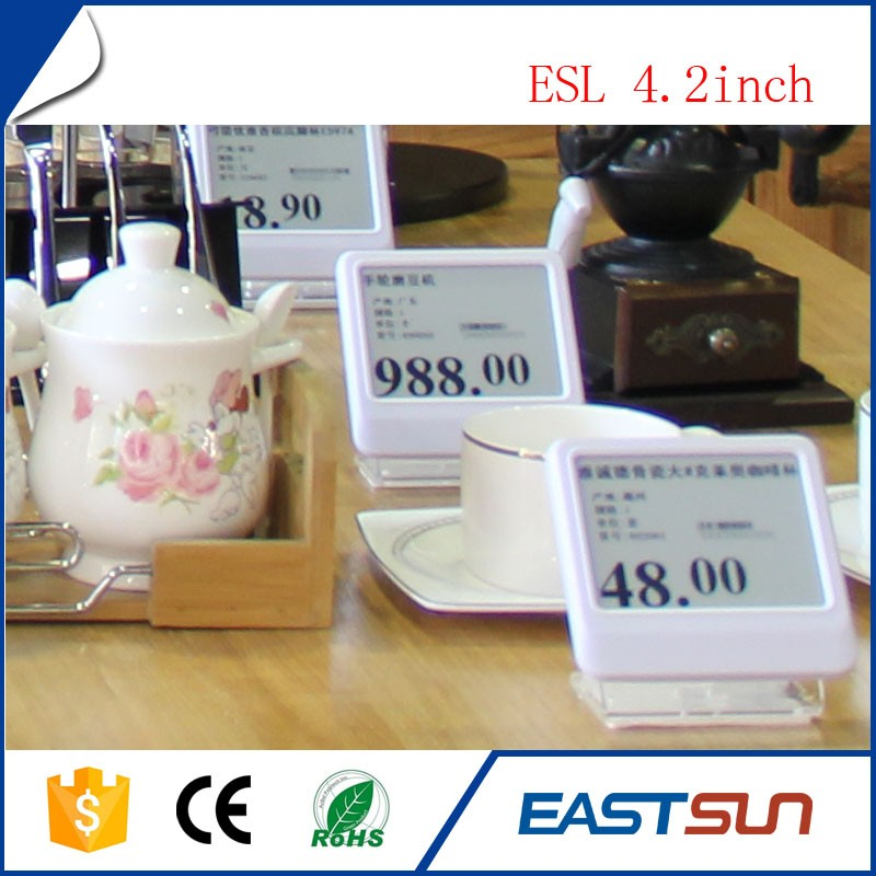 E-ink supermarket Digital Price Tag