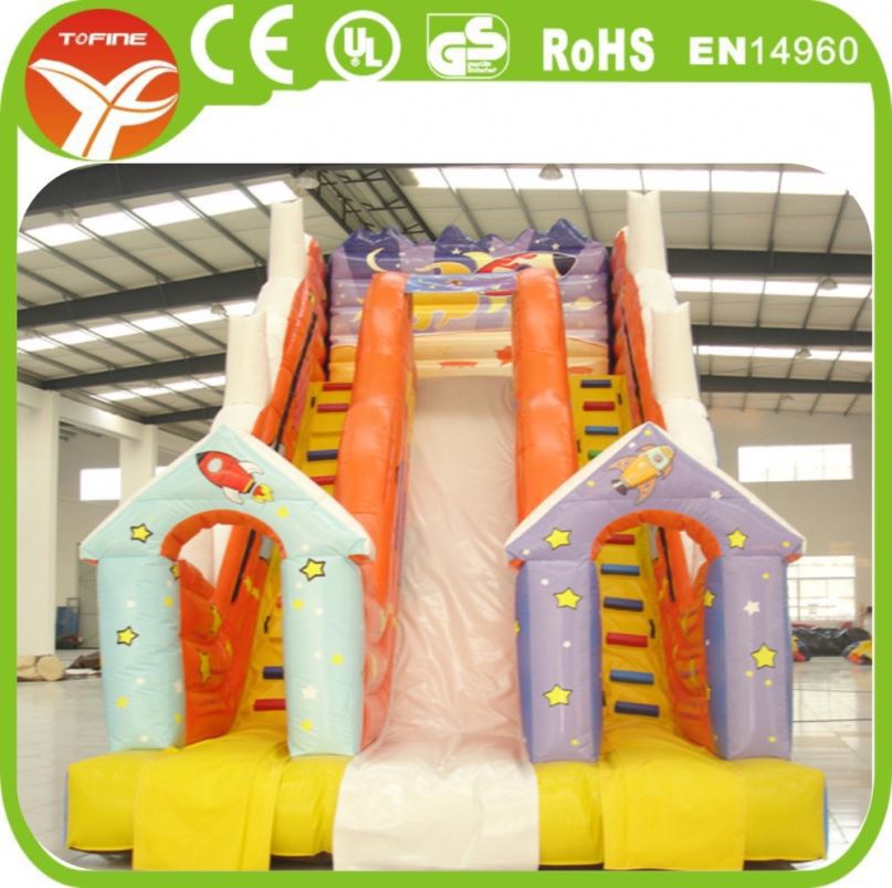 Commercial Grade Inflatable Water Slide For Sale