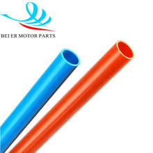 Flexible flame resistant plastic PVC threading pipe