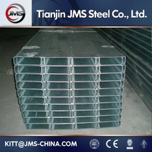 Customized Galvanizing Steel Purlins With Zed / Cee Purlin And Girt Fabrication
