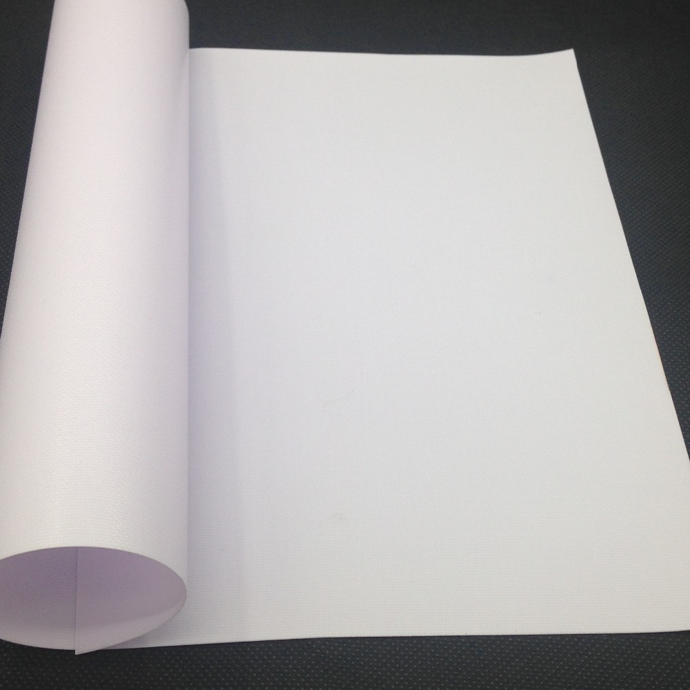 PVC hot knife fabric cutter flex banner for printing