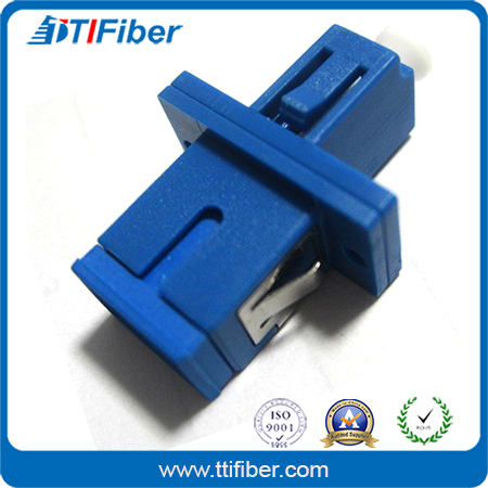 SC/APC Male To LC/APC Female Hybrid Fiber Optic Adapter
