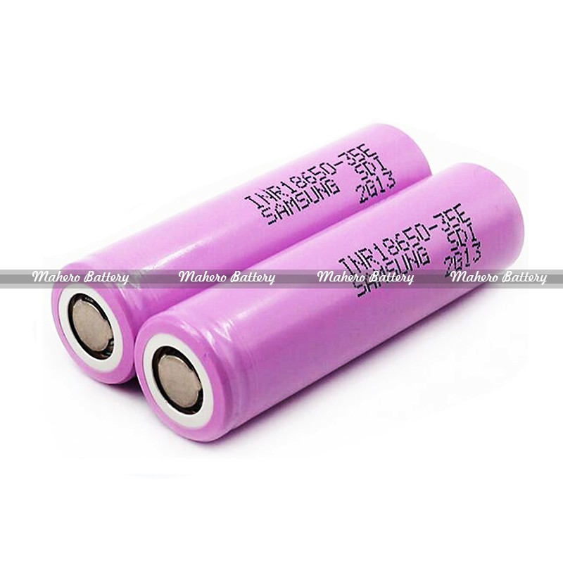 2017 New arrivals Authentic Samsung INR18650-35E 3500mAh Li-ion rechargeable New Pink Samsung 35E 18650 battery