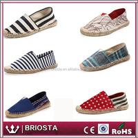Buy 2016 Fashion Shoes Espadrilles Woman Canvas Shoes line Soled ...