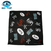 Factory Supply 100% Cotton cheap Different Colors Kerchief