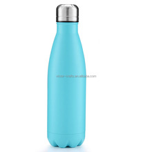 New Double wall Vacuum insulated Coke Shape 350/500/750ml stainless steel water bottle