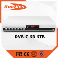 digital cable tv converter for mpeg2 sd dvb-c set top box with best price