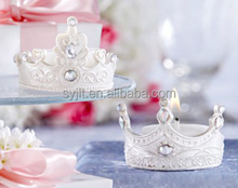 Cute home decoration crown shape art candle,Lollipop candle,wedding candle