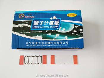 SW-3700 Disposable Semen Counting Slid, Sperm Counting Chamber, Dispasable Sperm Counting Slid