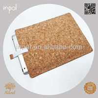 New design handcrafted sustainable cork travel case for ipad 3