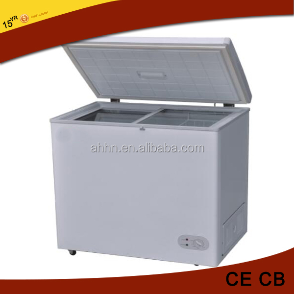 210L good quality cheap price big deep freezer