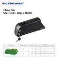 Downtube Lithium battery 36v 20ah 10s6p battery pack