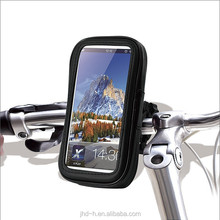 Bicycle holder with water proofcase for mobile phone, bike waterproof case for any size mobile phone
