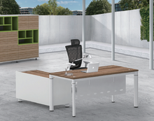 Modern Furniture Executive Office furniture with Modesty panel table with steel frame