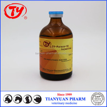 Dogs fox sable Paracetamol 10% injection antalgic for medium and small animals