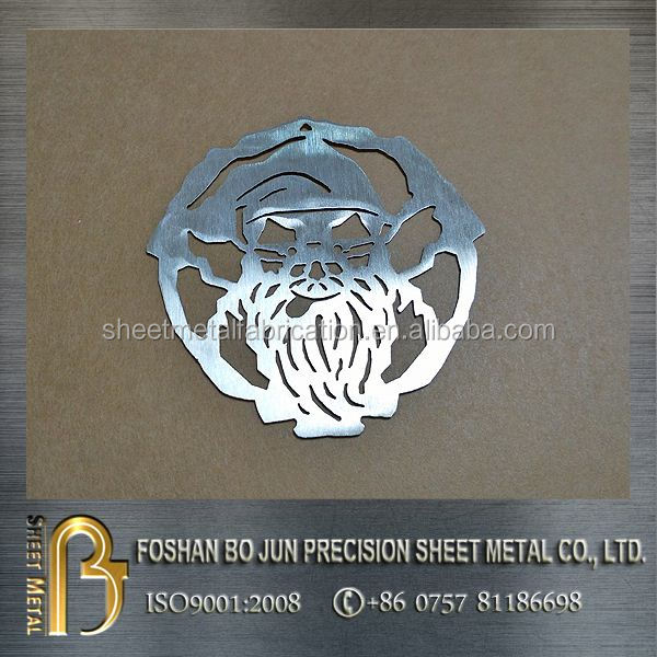 China manufacturer custom metal fabrication service , sheet metal fabrication of laser cutting decoration