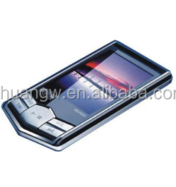 "New Slim 1.8""LCD 16 GB MP4 black diamond with Radio mp4 player free hindi mp3 song download"
