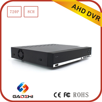 Cctv solution 720p 8 ch digital video recorder dvr network h264