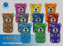 luckcase cartoon mobile phone case Lazy bear phone case factory