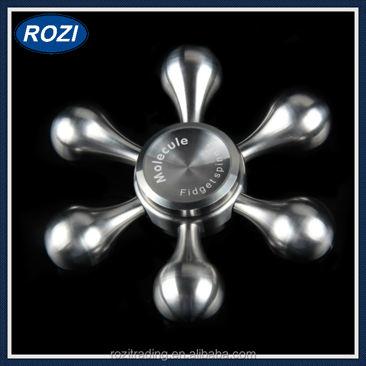 2017 New Stainless Steel Bearing Mini EDC Finger Toys Fidget Finger Spinner