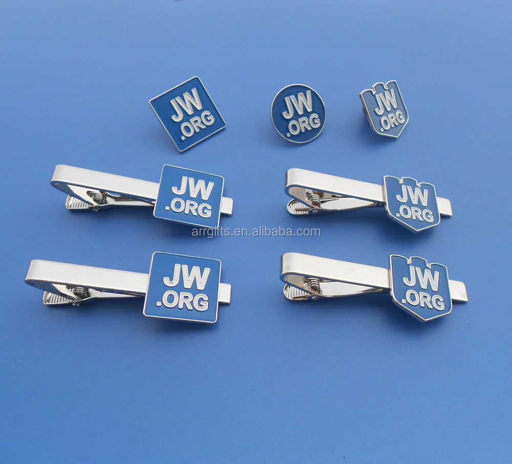 2017 assorted design JW.ORG badge/cufflinks /tie bar set /tie pin
