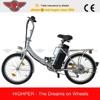 250W Electric Folding Bike, Folding Electric Bike with EN15194 and EN14764 (EF01S)
