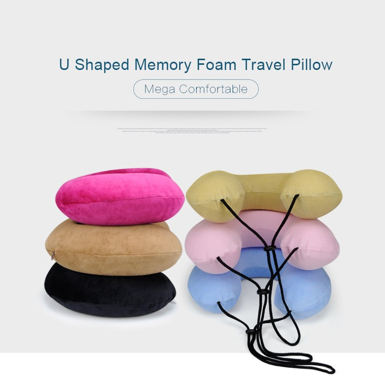 BYC Wholesale Super Soft Neck Support Travel Pillow With Your Brand Logo