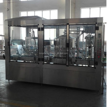 Automatic Rotary Bottling Line Vodka Bottle Rinsing Filling Capping Machine