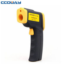 Portable handheld infrared thermometer laser, infrared thermometer gun