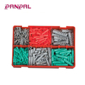 BSCI approved China factory 445pcs wall plug plastic anchor
