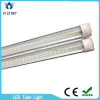 6500k cool white T8 4ft 120cm 30w double row led tube light with 2 years warranty
