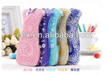 Fancy Cheongsam Pattern Hard Case Cover for iPhone 5 5S+Screen Guard