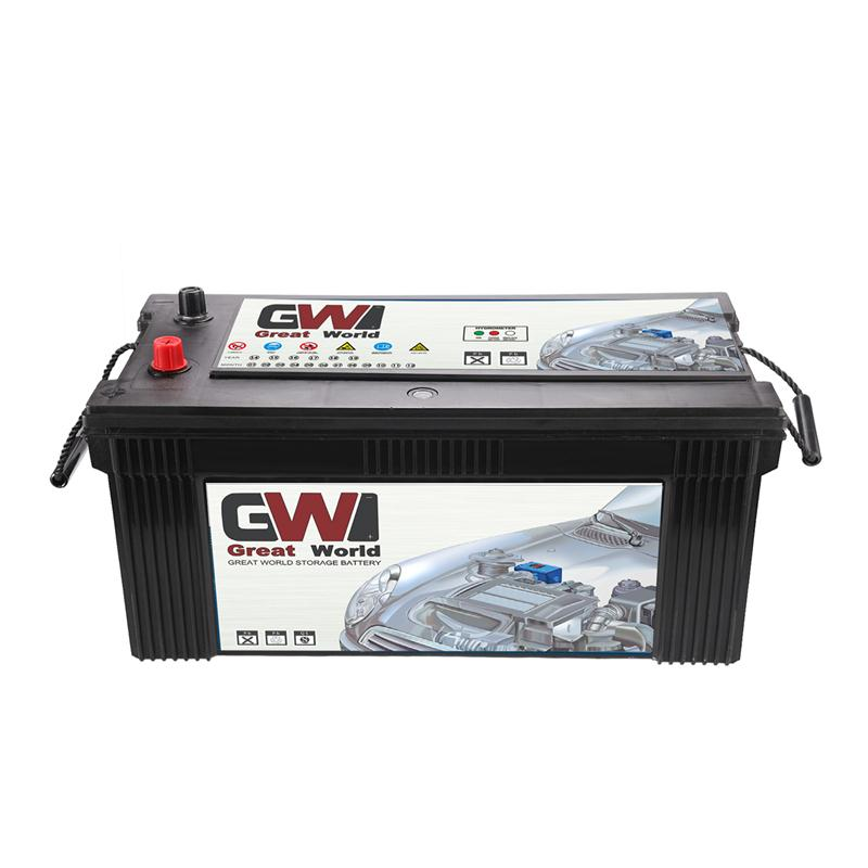 12V 200Ah N200 car battery turkey with CE certificate