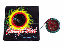 High Quality Colorful Wheel Spinners Fireworks&Firecrackers for Wholesale