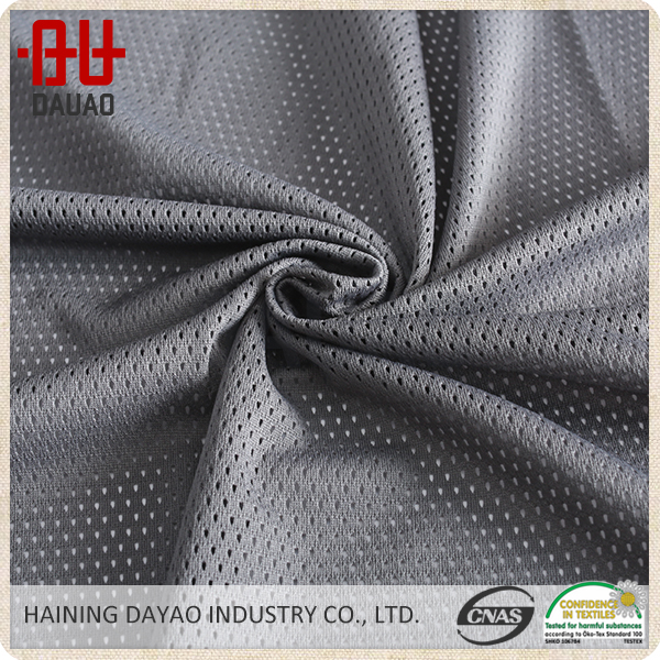 100% polyester netting stretch mesh fabric for shoes and clothes