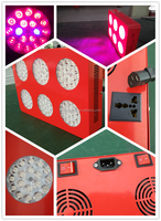 High Quality Low Power Consumption 324w led grow light With Metal Cooling and Hanging Kit