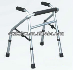 Aluminum folding walker/Rollator for children ZX9145L