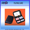 Cheap Travel Leather Playing Card Set