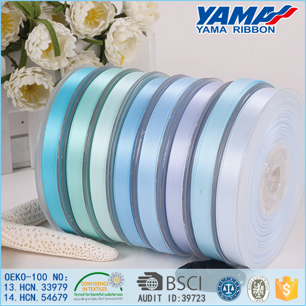 Polyester stretch satin ribbon