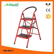easy store fashion design domestic folding steel steel staircase design (MD-829-3)