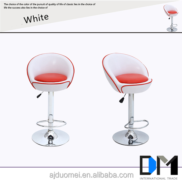 Factory for Sale China Synthetic Leather Egg Swivel Bar chairs