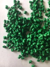 Virgin HDPE/PP Plastic Green Color Materbatch granule