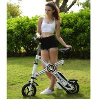 New type 250W Electric Folding E-Mini Bike ,small folding electric bicycle, dirt headlight bicycle from ASKMY