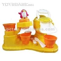 Kids ice cream maker plastic ice cream toy