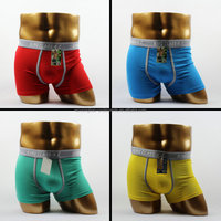 Wenzhou underwear factory 100% custom cotton cheaper mens underpants