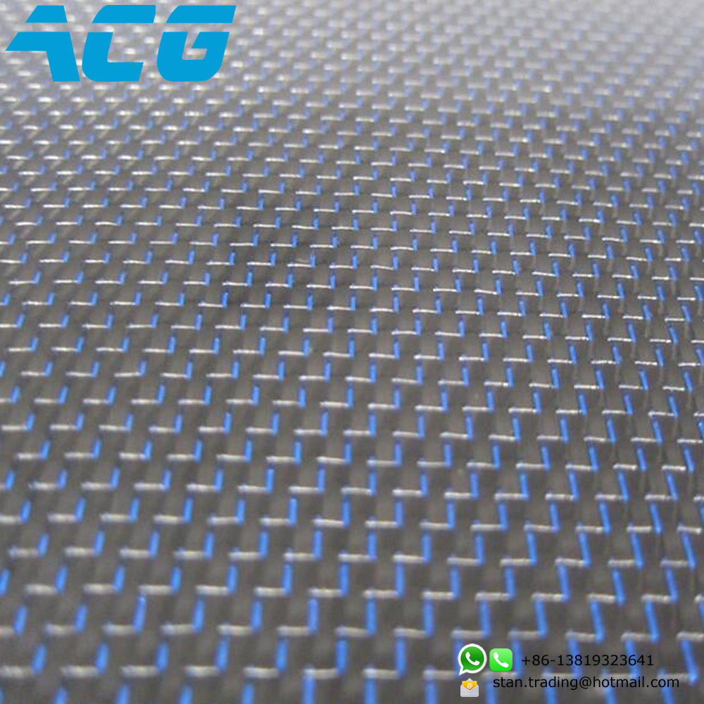 Colorful Carbon Fiber Metallic Cloth Blue/green/orange customized