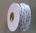 3M tape 1600T/3M 1600TG white and grey color of double sided self adhesive pe foam tape 3M die cut adhesive TAPE